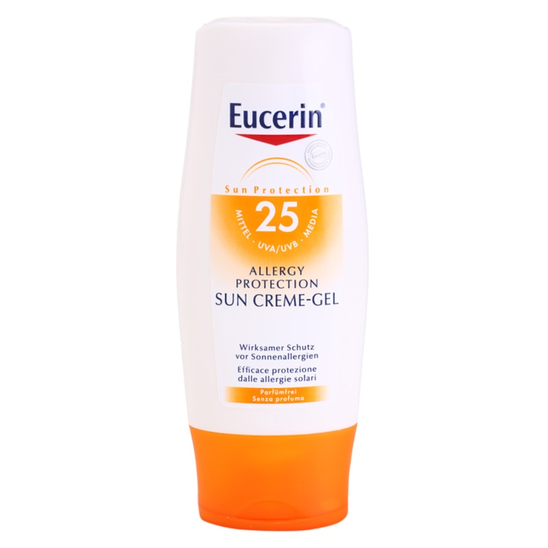 eucerin sun allergy protection cream gel spf 50 review