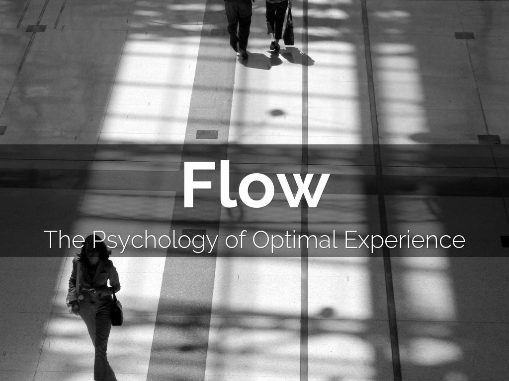 flow the psychology of optimal experience review