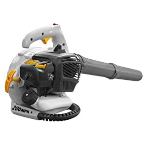 gas powered leaf blower vacuum reviews
