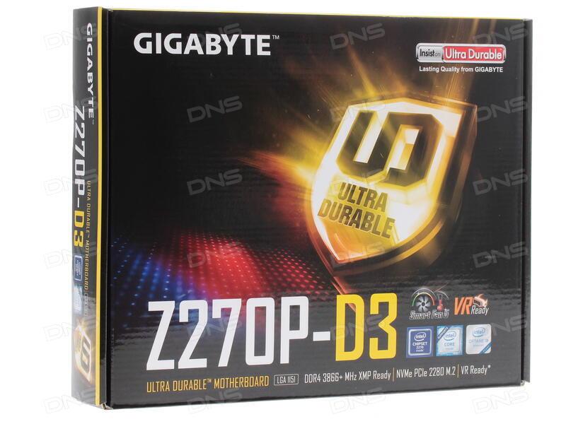 gigabyte ga z270p d3 review