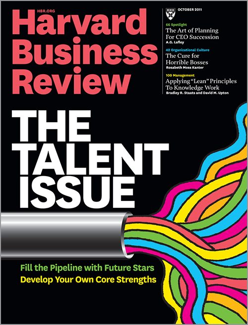 harvard business review how i did it