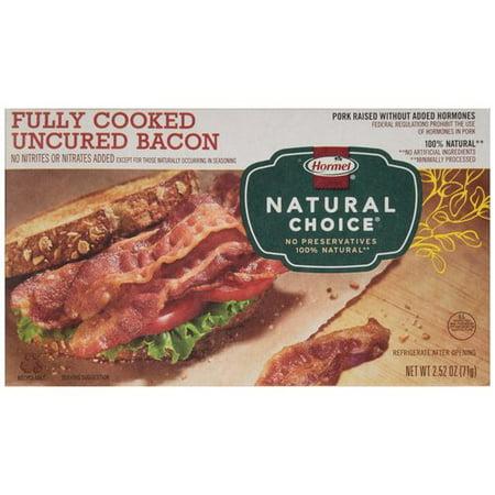 hormel natural choice bacon review