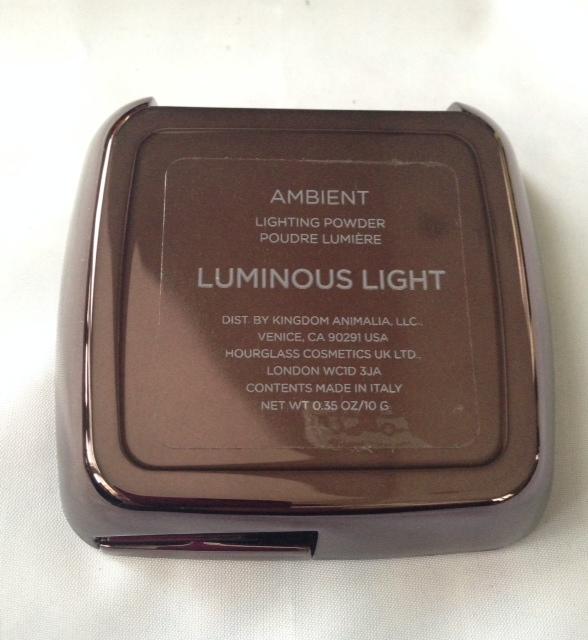 hourglass ambient lighting powder luminous light review