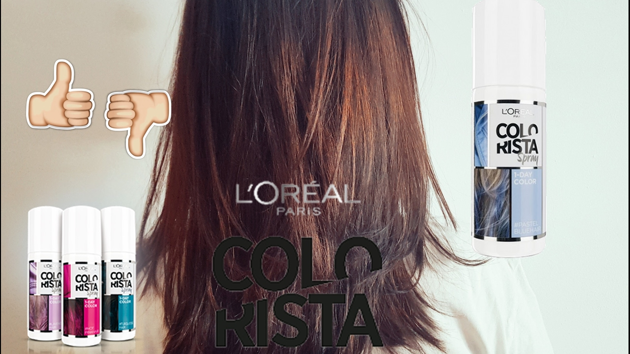 l oreal colorista spray review
