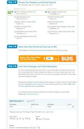 priceline name your own price review